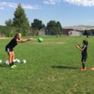 Picture of soccer training drills